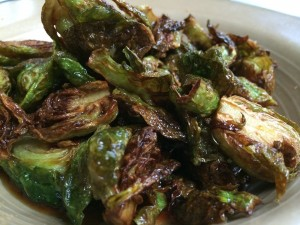 Cooked Brussels Dressed